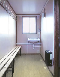 welfare unit interior